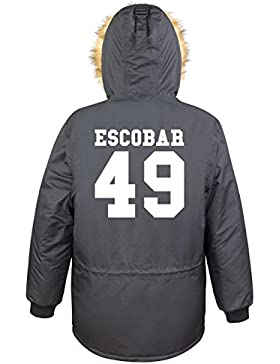 Escobar 49 Parka Girls Nero Ce