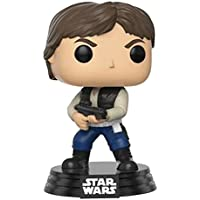Funko - Figurine Star Wars - Han Solo Action Pose Exclu Convention 2017 Pop 10cm - 0889698118415
