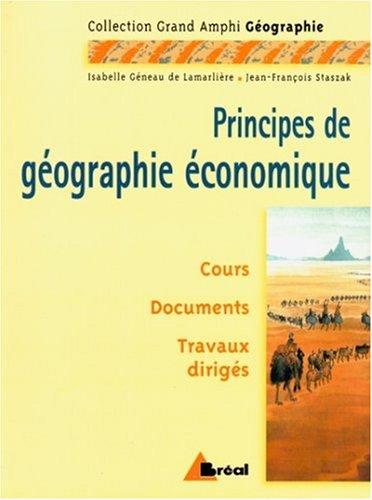 Géographie économique