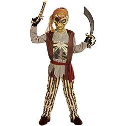 Disfraz para niños de pirata fantasma (5-7años).
