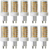 ONLT 10PCS G9 10W Regulable Bombilla LED,4000K 950 LM 86 X 2835 SMD,