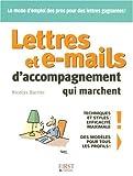 Telecharger Livres LETTRES E MAILS ACCOMP MARCHE (PDF,EPUB,MOBI) gratuits en Francaise