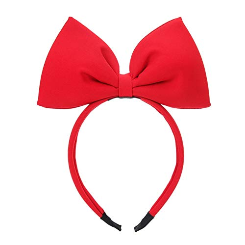 Aohanguji First -class Stylish 3Pcs /Bag Bow Headband Big Bow Hair Hoop Cute Girls Kids Party Dekoration Kopfschmuck Cosplay Kostüm Kopfbekleidung(None 3 color - Big Hair Kostüm
