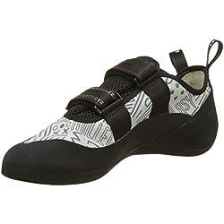 Millet - Easy Up - Chaussures d'Escalade Mixte Adulte - Tige Polycoton - Couleur : Gris/Rouge