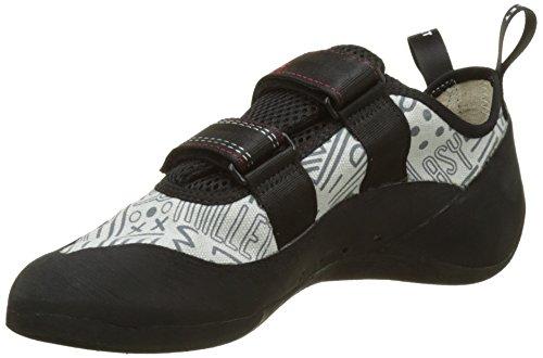 Millet Easy Up. Cómodas zapatillas de escalada, ideal para principiantes; gracias a sus listones asimétricos y a la ausencia de precargas, el zapato se asienta de forma agradable y no presiona; con cierre de velcro y suela con 4 puntos de agarre para...