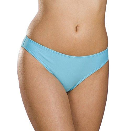 Camille Damen Bikini Hose - Mix and Match - Türkis 44 - Hi Leg Brief