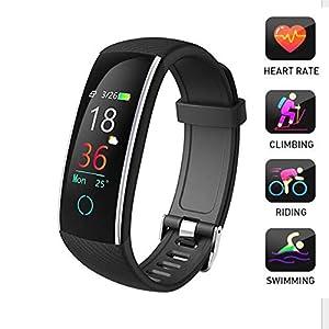 LMtt Fitness Tracker, Pulsera Inteligente, Fitness Tracker Deportes frecuencia