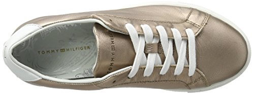 Tommy Hilfiger Damen T1285ina 10a2 Sneaker Gold (Rose Gold 703)