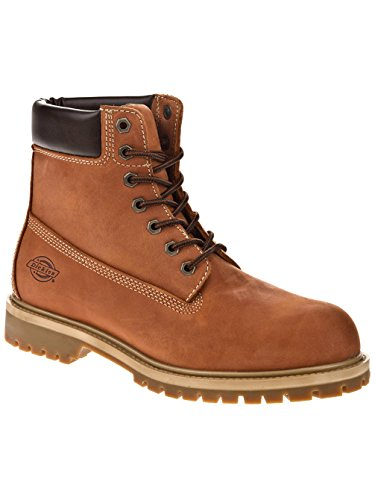 Dickies 09 000002, Scarponi Uomo Nubuck Brown
