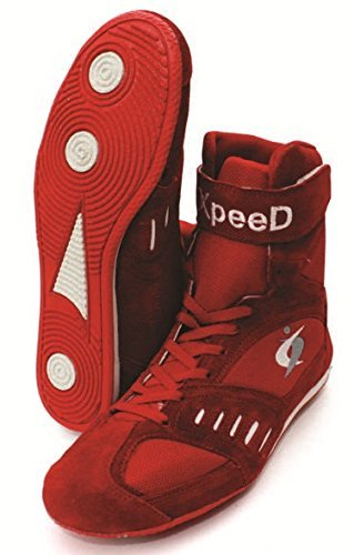 X-Peed Xpeed Boxen/Wrestling Schuh XPEED in rot Farbe 10 rot
