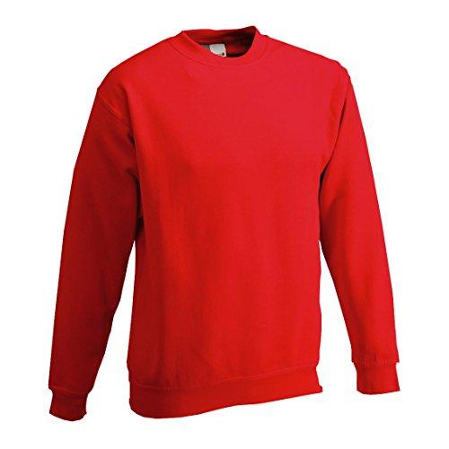 Promo mens 80/20 Doro Sweater sweat prodotto con buon effetto termico Rosso Fuoco