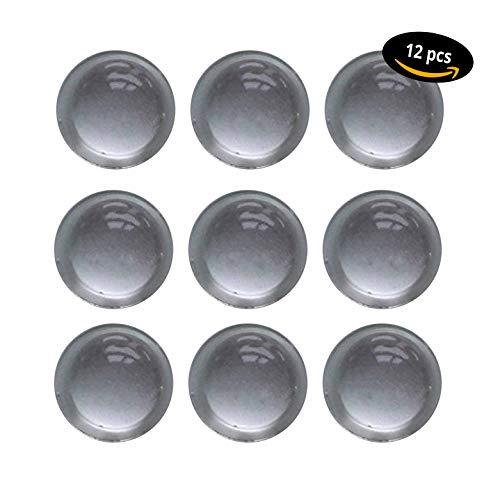Lot de 12 tampons/Butée Tampon transparent/Meubles Tampon autocollant/Ø 16,0 mm hauteur = 7,9 mm/Protection butées/tampon en caoutchouc