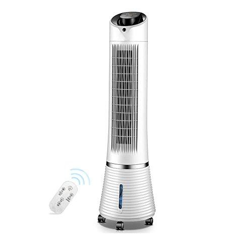 ZL Ventilateur blanc de climatisation de réfrigération, avec le ventilateur silencieux vertical 19 * 14cm d'humidification de refroidissement de maison de roue