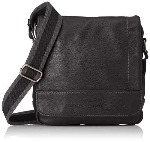 Tom Tailor 24300, sac bandoulière homme - Noir - Noir...