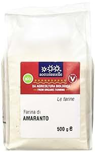 Sottolestelle Farina di Amaranto - 6 confezioni da 500gr - Totale  3 kg