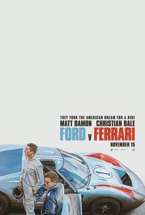 LE Mans 66 - Film Poster Plakat Drucken Bild - 43.2 x 60.7cm Größe Grösse Filmplakat Ford V Ferrari