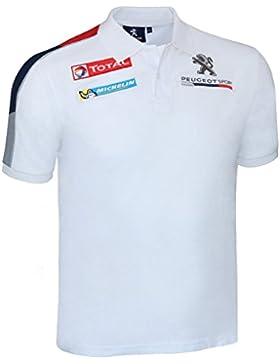 Peugeot Sport - Polo - con botones - para hombre
