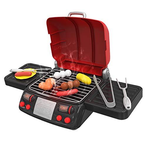 pielzeug, 19 Stücke Elektrischer BBQ Barbecue Kochen Spielset, Pädagogisches Lernen Spielzeug für Kinder ()