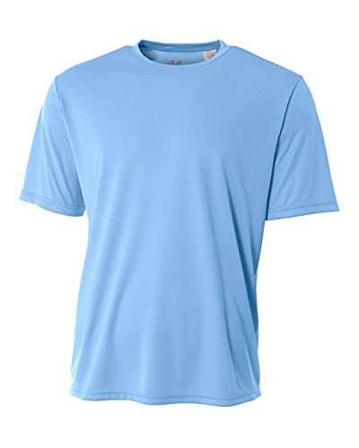 A4 Youth Cooling Performance Crew Short Sleeve Tee (Sleeve Tight Short Performance Top)
