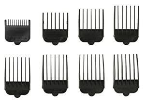 Wahl Clipper Attachments Plastic No. 1 - 8 by Wahl