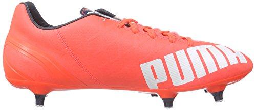 Puma - Evospeed 4.4 Sg, Scarpe Da Calcio da uomo Arancione (Orange (lava blast-white-total eclipse 01))