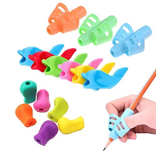 OKSANO - Juego 12 lápices agarre escritura niños