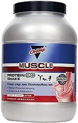 Champ Protein 90 Shake Erdbeer, (1 x 390 g)