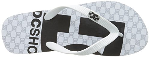 Dc Shoes Spray Graffik D0303276, Infradito Uomo White/Black/White 2