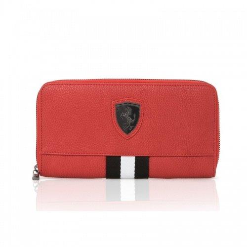 68312c1366 Ferrari Original portafoglio da donna/portamonete Rosso Stemma