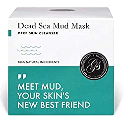 Mascarilla Hidratante Facial de Barro Arcillas Faciales de Mar Muerto Arcillas Pura