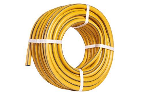 Hozelock Gartenschlauch Tricoflex Ultraflex Schlauch mit 1/2 Zoll (= 12,5 mm) 3/4 Zoll (= 19mm) 1 Zoll (=25mm) Durchmesser, Größe:3/4 Zoll Durchmesser, Länge:25m