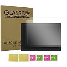 transwon 10.1pulgadas templado Glass Screen Protector–cristal tempered para Yuntab K107, Excelvan K107, ibowin P130, beista 10.1Android Tablet, XIDO Z120, leaningtech qt-1010.1