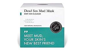 Mascarilla Hidratante Facial de Barro Arcillas Faciales de Mar Muerto Arcillas Pura 200ML Para Larga Duracion