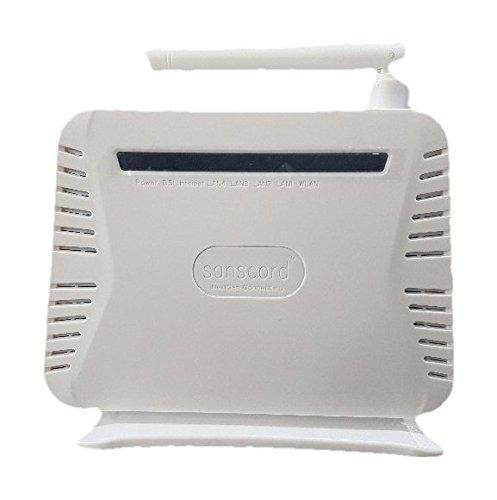 Sanscord RD150 Wireless 150 Mbps ADSL2+ Modem (WiFi Modem for BSNL,MTNL)