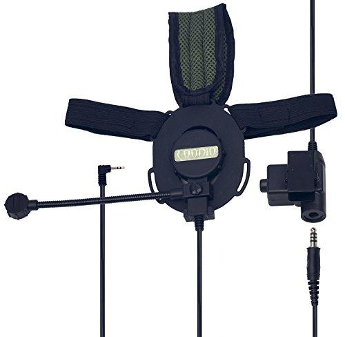coodio-motorola-tlkr-radio-tactico-auriculares-1-pin-micro-auricular-microfono-giratorio-con-grande-