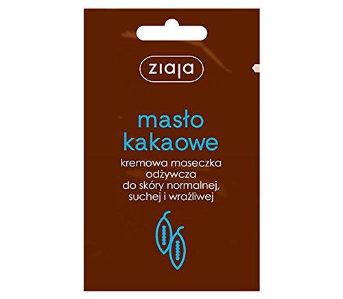 Ziaja Manteca de Cacao rejuvenecedor facial máscara 3X 7ml para normal y piel seca