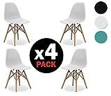 Dalla loro creazione, le sedie progettate da Charles e Ray Eames sono diventate oggetto di culto per tutti gli amanti del design. La sobrietà, l'eleganza e l'innovazione fanno di questo modello una sedia estremamente versatile in grado di app...