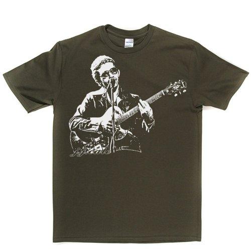 JJ Cale J.J American Singer Tulsa Sound Blues Country Jazz Tee T-shirt Militärgrün