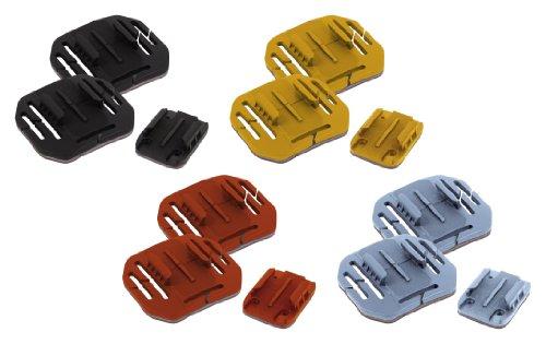 Rollei 3M Sticker Kit, bunte Klebepads für Rollei Actioncam 3S / 4S / 5S / 5S WiFi / S-50 / 6S / 7S (12-teilig)