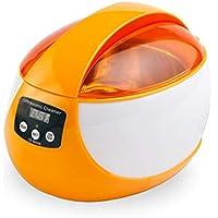 CQ Limpiador Ultrasónico Temporizador Digital Calentador Ultrasonido para Joyería Gafas
