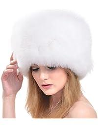 pretty nice 4d71c d9327 Amazon.it: Pelliccia Volpe Bianca - Donna: Abbigliamento