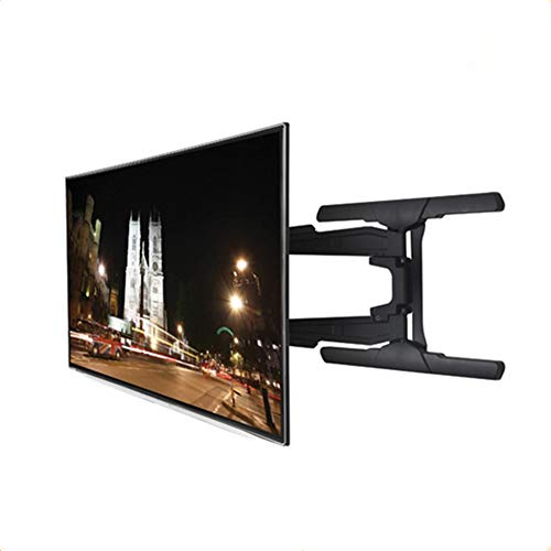 Exing TV Wandhalterung, Tilt Swivel TV Wall Mount Bracket Universal Rocker Telescopic Adjustable Display Bracket für 37