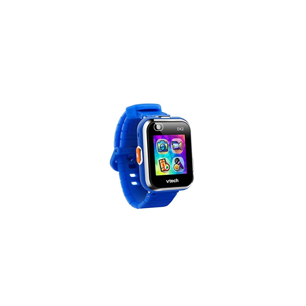 413J1 6R%2BkL. SS1200  - VTech Kidizoom DX2 - Electrónica para niños (Kids smartwatch, Blue, Splash proof, Buttons, 5 yr(s), Boy/Girl) [version aleman]