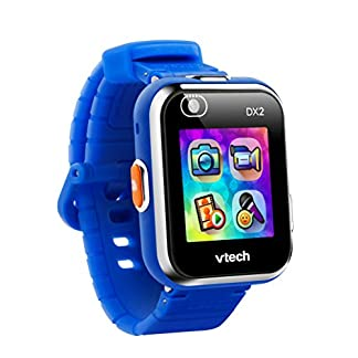 VTech Kidizoom DX2 – Electrónica para niños (Kids smartwatch, Blue, Splash proof, Buttons, 5 yr(s), Boy/Girl) [version aleman]