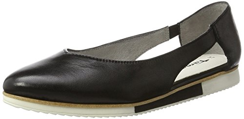 Tamaris 24202, Mocassins Femme Noir (BLACK LEATHER 003)