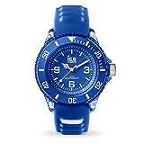 Ice-Watch - ICE aqua Marine - Blaue Herrenuhr mit Silikonarmband - 001455 (Small)