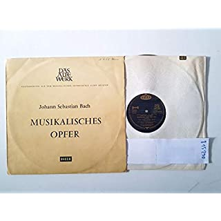 Das Alte Werk : Musikalisches Opfer (AWD 9931-C/SAWD 9931-B)
