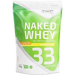 Whey Protein Pulver – Eiweißpulver aus Molke – Proteinpulver mit Laktase – Eiweiß-Shake / 1kg