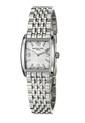 Raymond Weil 5976-ST-05927 - Reloj de mujer de cuarzo, correa de acero inoxidable color plata