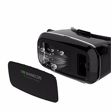 Virtual-Reality-Headset vr shinecon 3D-Film-Spiel-Brille für Smartphone WHI entfernten Bluetooth-Gamepad , green